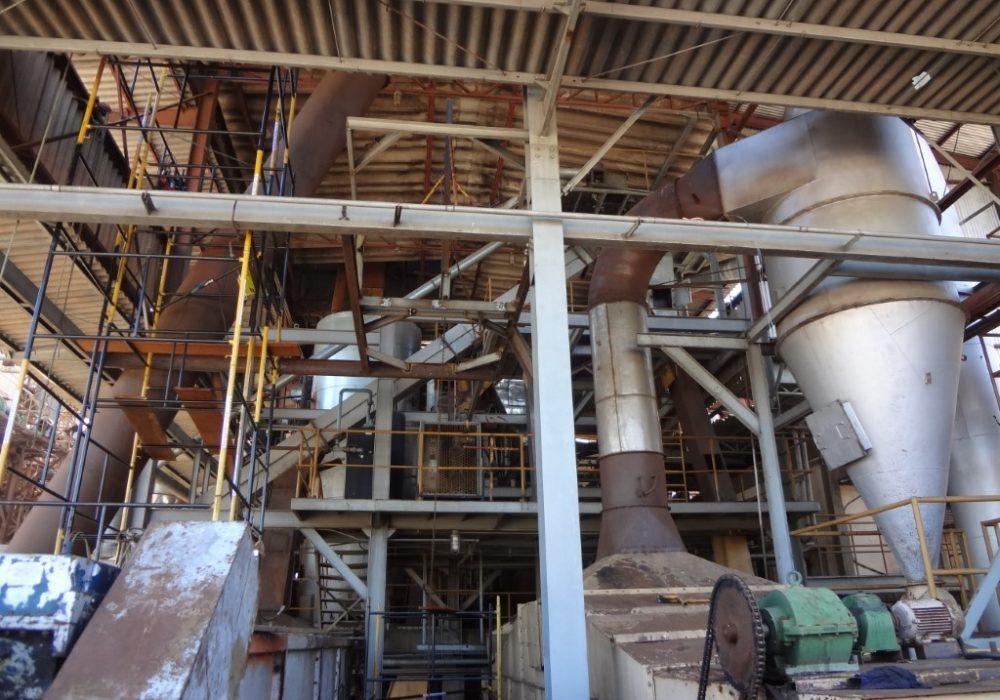 f site fabricção e montagem ciclones