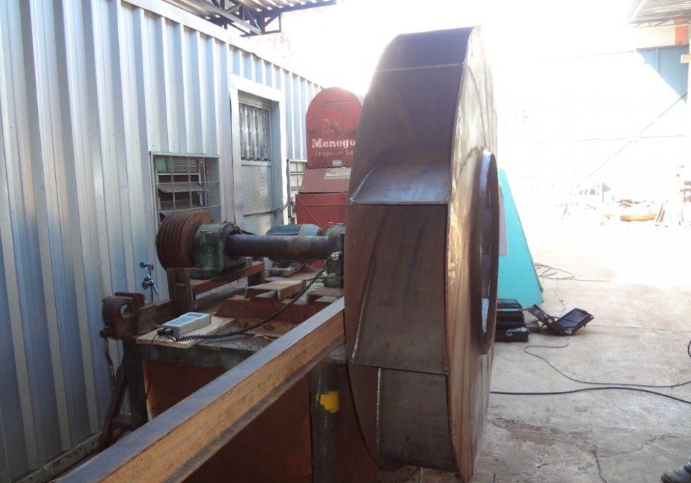 f site fabricção e balanceamento rotor