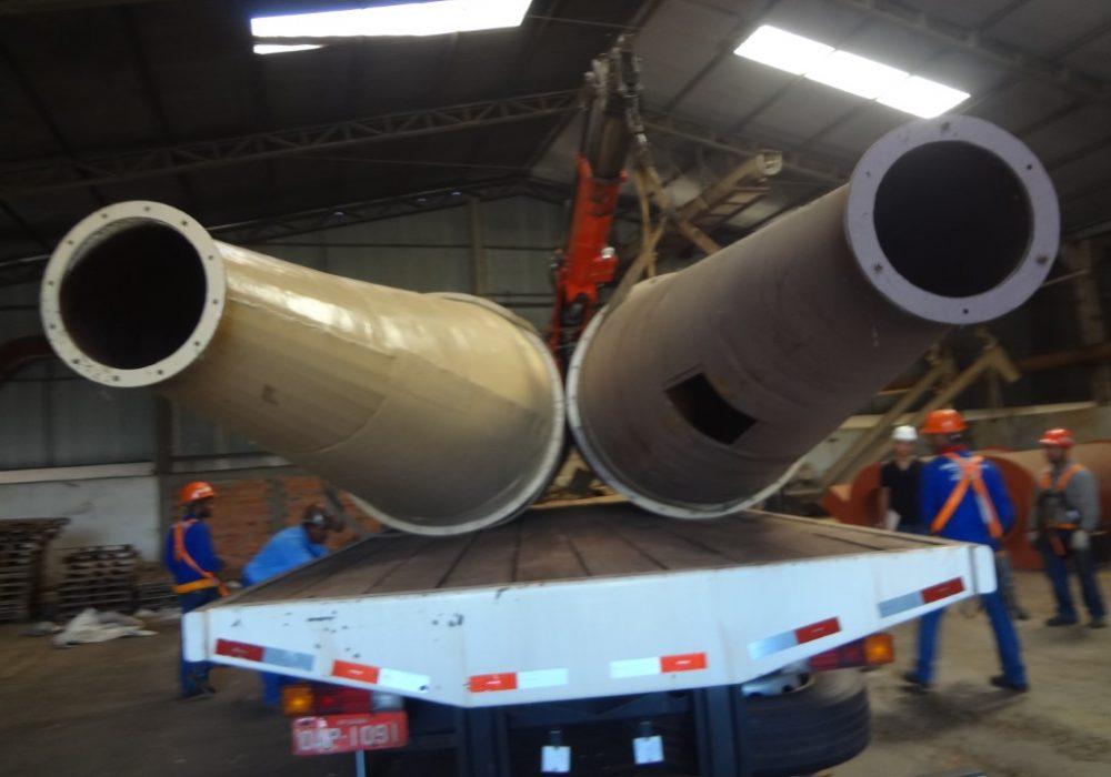 f site fabricção montagem ciclones