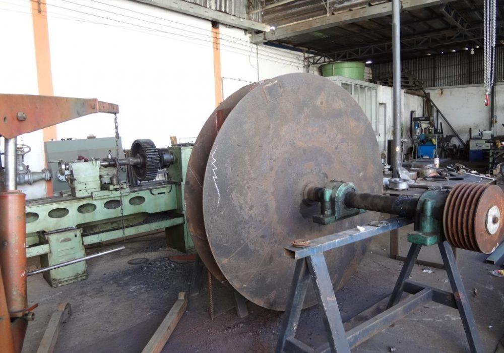 f site manutenção e balanceamento em rotor