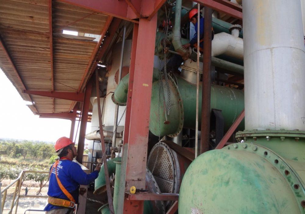 f site manutenção em condensadores