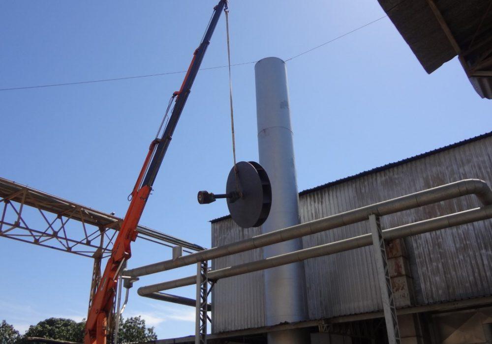 f site montagem rotor